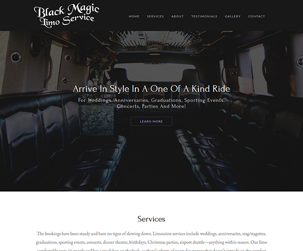 Black Magic Limo