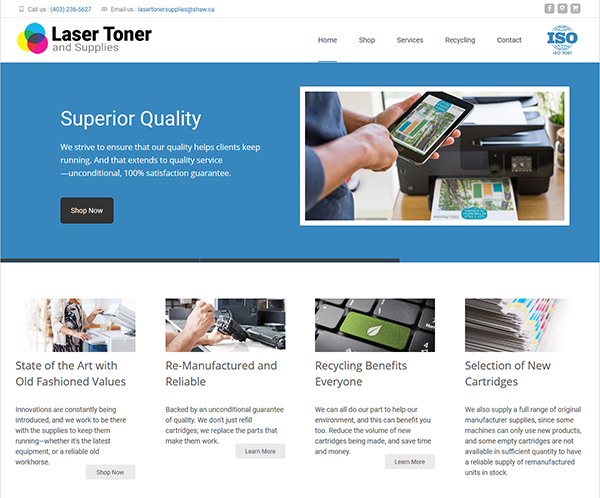 Laser Toner & Supplies