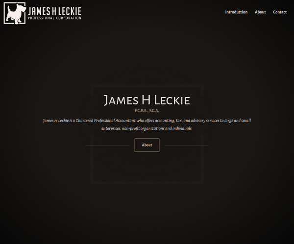 James H Leckie